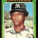NEW YORK YANKEES RUDY MAY 1975 TOPPS # 321 good