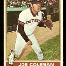 DETROIT TIGERS JOE COLEMAN 1976 TOPPS # 456 good