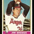 CALIFORNIA ANGELS JIM BREWER 1976 TOPPS # 459 NR MT