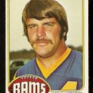 LOS ANGELES RAMS JACK REYNOLDS 1976 TOPPS # 446 EX