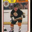 BOSTON BRUINS STEVE KASPER 1983 OPC O PEE CHEE # 50 NR MT