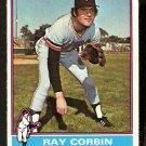 MINNESOTA TWINS RAY CORBIN 1976 TOPPS # 474 VG