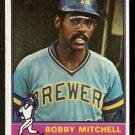 MILWAUKEE BREWERS BOBBY MITCHELL 1976 TOPPS # 479 EM/NM