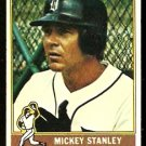 DETROIT TIGERS MICKEY STANLEY 1976 TOPPS # 483 good