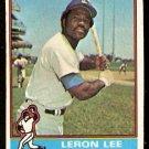 LOS ANGELES DODGERS LERON LEE 1976 TOPPS # 487 G/VG
