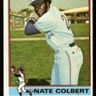 MONTREAL EXPOS NATE COLBERT 1976 TOPPS # 495 EX MT