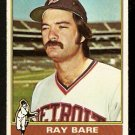 DETROIT TIGERS RAY BARE 1976 TOPPS # 507