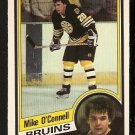 BOSTON BRUINS MIKE O'CONNELL 1984 OPC O PEE CHEE # 12