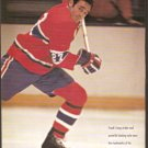 MONTREAL CANADIENS FRANK MAHOVLICH 1993 PINUP PHOTO
