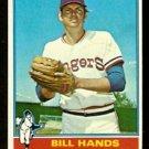 TEXAS RANGERS BILL HANDS 1976 TOPPS # 509 EX+/EM