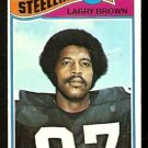 PITTSBURGH STEELERS LARRY BROWN 1977 TOPPS # 51 VG