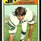 1977 Topps Football Card # 63 New York Jets Ed Galigher