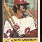 PHILADELPHIA PHILLIES MIKE ANDERSON 1976 TOPPS # 527 VG