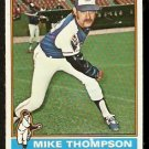 ATLANTA BRAVES MIKE THOMPSON 1976 TOPPS # 536 NR MT