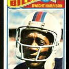 BUFFALO BILLS DWIGHT HARRISON 1977 TOPPS # 82 VG/EX