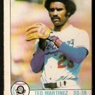 LOS ANGELES DODGERS TED MARTINEZ 1979 O PEE CHEE OPC # 59 VG