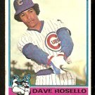 CHICAGO CUBS DAVE ROSELLO 1976 TOPPS # 546 good