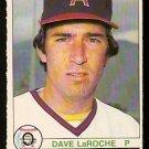 CALIFORNIA ANGELS DAVE LaROCHE 1979 O PEE CHEE OPC # 317