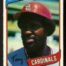 ST LOUIS CARDINALS TONY SCOTT 1980 O PEE CHEE OPC # 17 NR MT