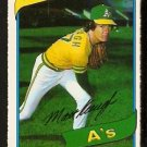 OAKLAND ATHLETICS MATT KEOUGH 1980 O PEE CHEE OPC # 74 NR MT