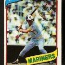 Seattle Mariners Bill Stein 1980 O-Pee-Chee OPC Baseball Card # 121