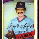 Chicago Cubs Dennis Lamp 1980 O-Pee-Chee OPC Baseball Card # 129