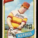 Houston Astros Denny Walling 1980 O-Pee-Chee OPC Baseball Card # 161 nr mt