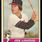CALIFORNIA ANGELS JOE LAHOUD 1976 TOPPS # 612 VG