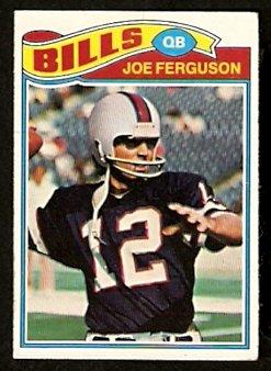 Buffalo Bills Joe Ferguson 1977 Topps Football Card # 174 vg