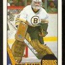 BOSTON BRUINS DOUG KEANS 1987 TOPPS # 147 NR MT