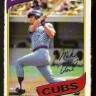 CHICAGO CUBS MIKE VAIL 1980 O PEE CHEE OPC # 180