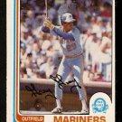 SEATTLE MARINERS GARY GRAY 1982 O PEE CHEE OPC # 78 NR MT