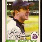 CHICAGO WHITE SOX JIM MORRISON 1982 O PEE CHEE OPC # 154 NR MT