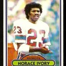 NEW ENGLAND PATRIOTS HORACE IVORY 1980 TOPPS # 208 EX