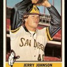 SAN DIEGO PADRES JERRY JOHNSON 1976 TOPPS # 658 NR MT