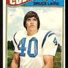 BALTIMORE COLTS BRUCE LAIRD 1977 TOPPS # 249 VG