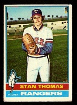 TEXAS RANGERS STAN THOMAS 1976 TOPPS # 148 G/VG