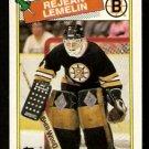 BOSTON BRUINS REJEAN LEMELIN 1988 TOPPS # 186 NR MT