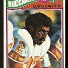 TAMPA BAY BUCS BUCCANEERS LOUIS CARTER ROOKIE CARD RC 1977 TOPPS # 268 EX+