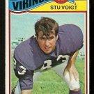 MINNESOTA VIKINGS STU VOIGT 1977 TOPPS # 271 VG
