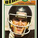 CHICAGO BEARS TERRY SCHMIDT 1977 TOPPS # 339 good