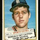 DETROIT TIGERS JIM CRAWFORD 1976 TOPPS TRADED # 428T VG+