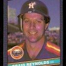 HOUSTON ASTROS CRAIG REYNOLDS 1986 LEAF # 107
