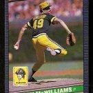 PITTSBURGH PIRATES LARRY McWILLIAMS 1986 LEAF # 136