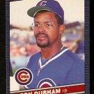 CHICAGO CUBS LEON DURHAM 1986 LEAF # 190