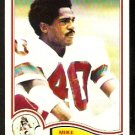 NEW ENGLAND PATRIOTS MIKE HAYNES 1982 TOPPS # 153