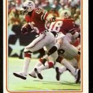 NEW ENGLAND PATRIOTS STANLEY MORGAN IN ACTION 1982 TOPPS # 157