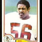 NEW ENGLAND PATRIOTS ROD SHOATE 1982 TOPPS # 159