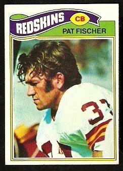 WASHINGTON REDSKINS PAT FISCHER 1977 TOPPS # 409 EX/EM