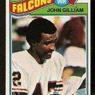 ATLANTA FALCONS JOHN GILLIAM 1977 TOPPS # 418 VG
